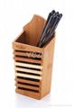 YCZM Bamboo Chopsticks Holder