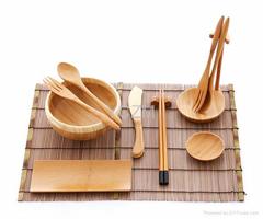 YCZM Bamboo Tableware Se