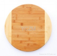 YCZM Round Bamboo Cutting Borad