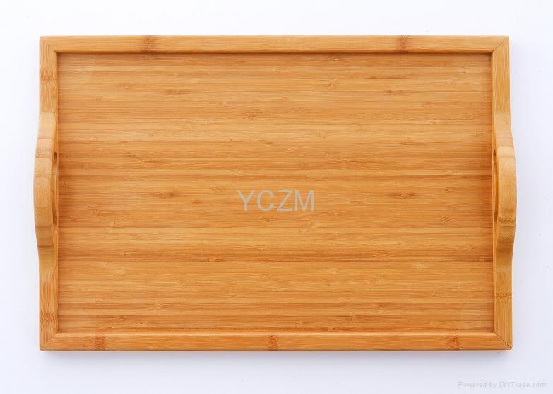 YCZM精美竹制托盘 1