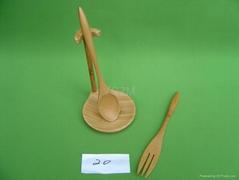 YCZM Fine Bamboo Spoon Holder