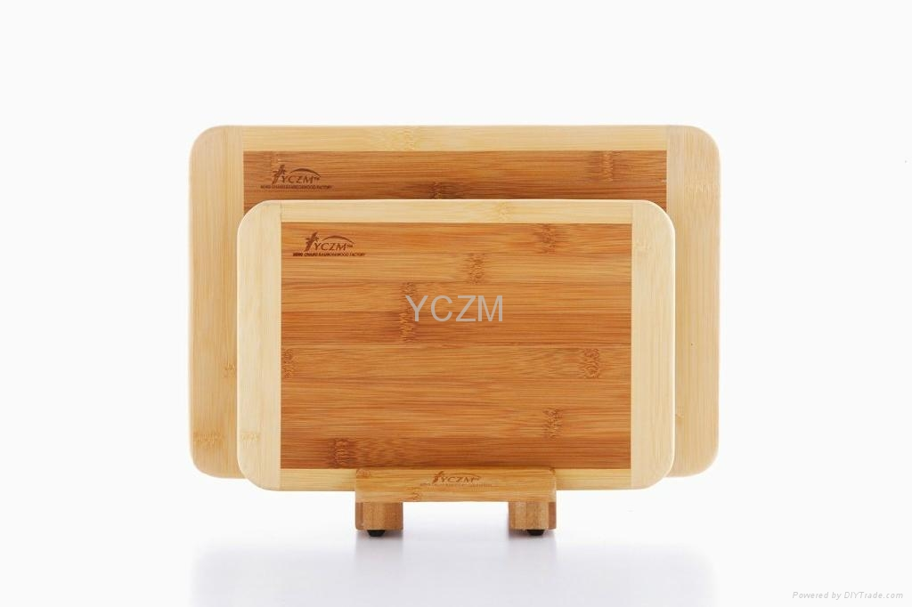YCZM Classic Two Color Bamboos Cutting Board 2