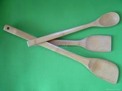 YCZM 碳化竹製飯匙