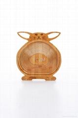 YCZM Bamboo Fruit Basket (Foldable)