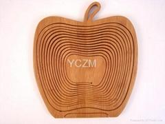 YCZM 竹製水果籃(蘋果版)