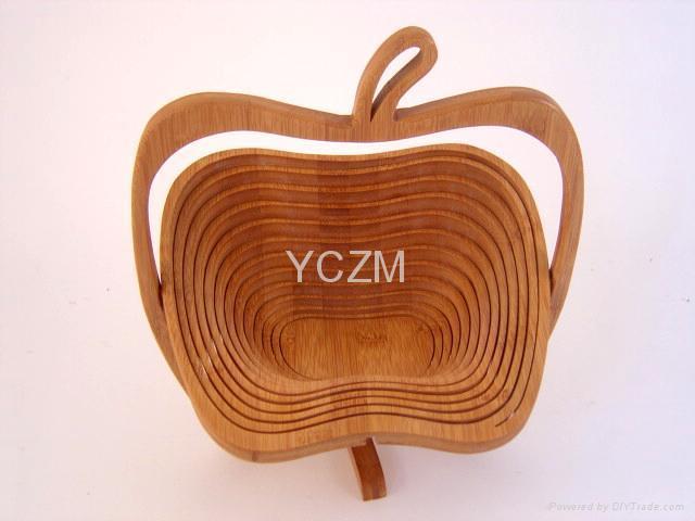 YCZM 竹製水果籃(蘋果版) 3
