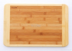 YCZM Classic Two Color Bamboos Cutting Board (Hot Product - 2*)