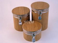YCZM 竹制收纳桶