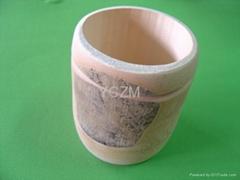 YCZM Bamboo Tube Bowl