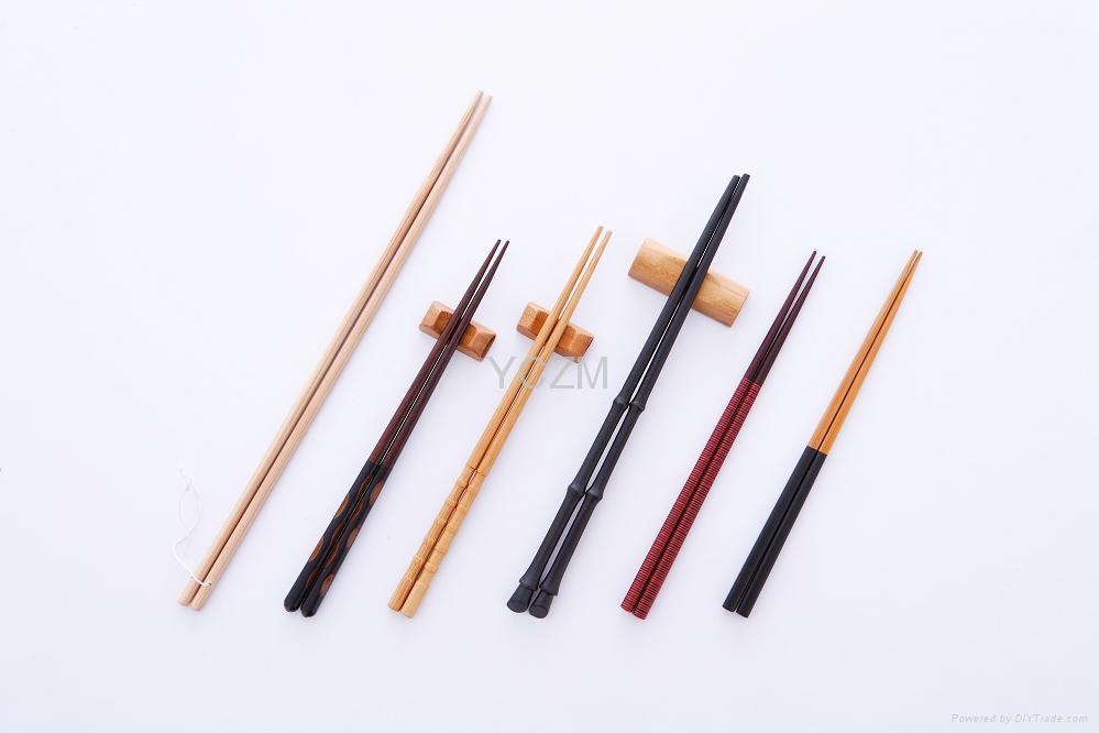 YCZM 各式精美竹筷子
