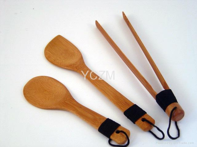 YCZM Bamboo Cooking Set