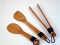 YCZM Bamboo Cooking Set