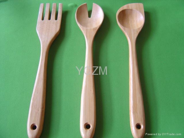 YCZM 加厚型竹湯匙 2