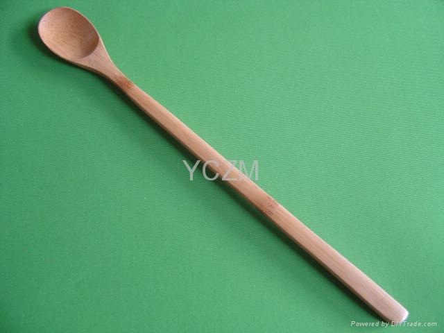 YCZM Long Bamboo Spoon 1