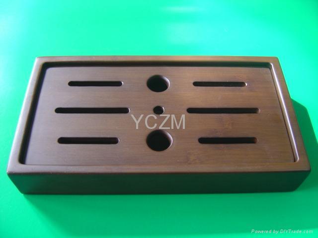 YCZM Bamboo Tea Service 1