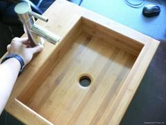 YCZM Bamboo Washbowl
