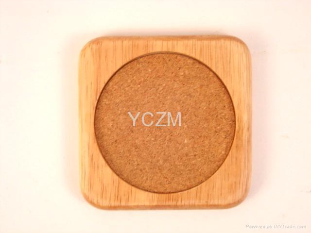 YCZM 竹製茶杯墊 3