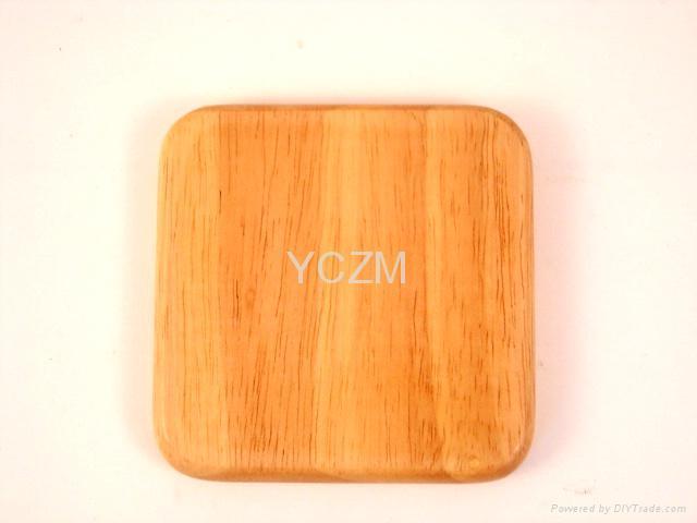 YCZM 竹製茶杯墊 4