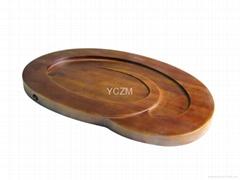 YCZM 竹茶盤-日月茶盤