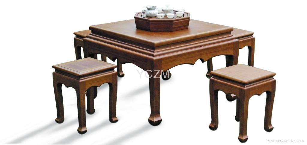 YCZM 竹茶桌