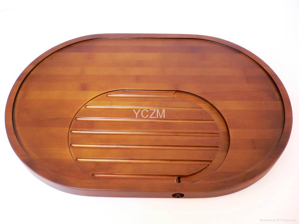 YCZM 环保竹制茶盘(独家保固2年不漏水)