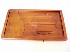 YCZM 环保竹制茶盘(  保固2年不漏水)