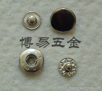 铜质四合扣四合钮急钮车缝钮钮扣按钮 1