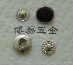 铜质四合扣四合钮急钮车缝钮钮扣按钮