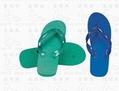 白鴿牌塑料微孔拖鞋915A