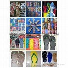 2019非洲中東暢銷硬底中高檔橡膠拖鞋913