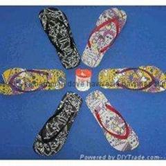 非洲中东东南亚南美热销哈瓦那款橡胶发泡舒适款拖鞋