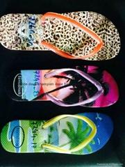 非洲中東暢銷硬底中高檔橡膠新熱銷哈瓦那款橡膠拖鞋