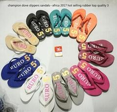 非洲 中东 中南美洲  东南亚畅销的白鸽冠军鸽吉利鸽王牌塑料微孔拖鞋