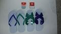 +white dove brand plastic light sandals+art.915a+