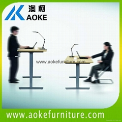aoke electric height adjustable desks,sitting and standing desks