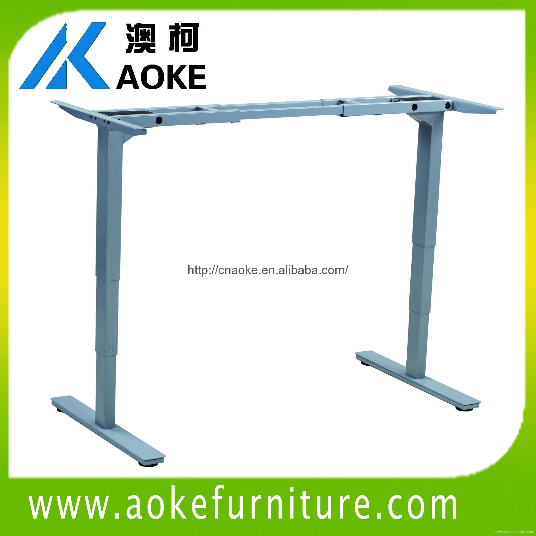 Aoke Ak2rt Db3 Sit To Stand Desk China Manufacturer