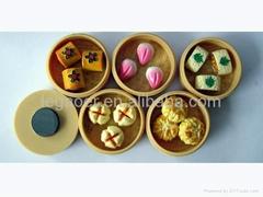 Chinese dim sum fridge magnets