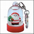 Santa claus key chains