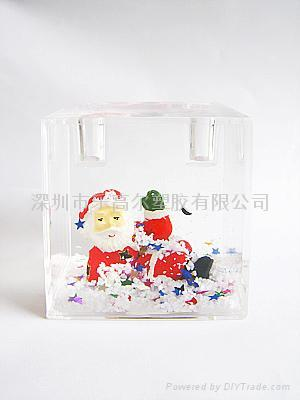 Christmas pen holder 1