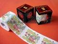 印花衛生紙訂製彩色卷紙生產