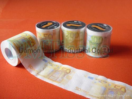 歐元印刷卷筒衛生紙 1