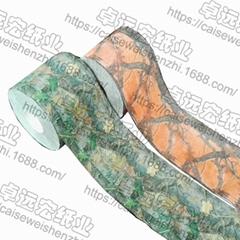 綠色迷彩卷紙彩色印花衛生紙個性廁紙創意卷紙
