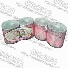 pink camo toilet paper