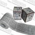 Sudoku printed toilet tissue
