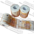 歐元印刷卷筒衛生紙 3