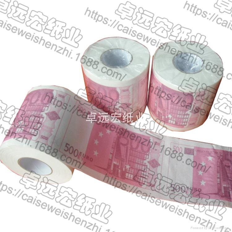歐元印刷卷筒衛生紙 4