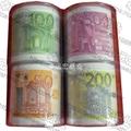 Euro printed toilet paper