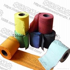 彩色衛生紙印花捲筒紙個性廁所紙創意紙巾