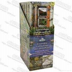 輕塗紙彩色印花禮品包裝紙加工廠鍍鋁箔紙防水高檔聖誕包裝紙套裝