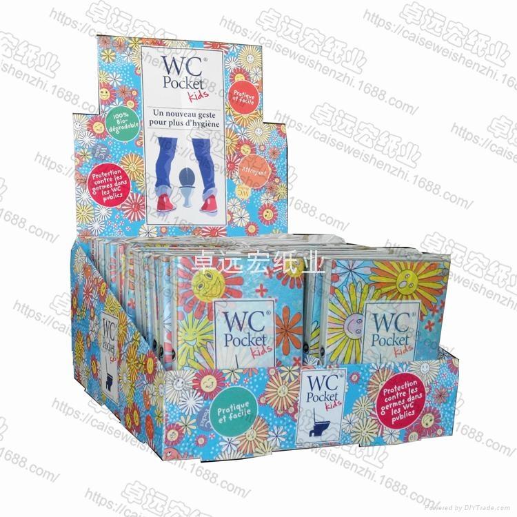 printed paper toilet seat cover 40cm x 42cm flushable  4